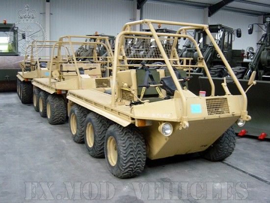 Used Military Vehicles Sale | Alvis Supacat 6x6 1600 MK II ExMoD For Sale / Ex-Military
