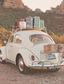 Prop ideas - VW bug or bus, airstream trailer, tent or tepee