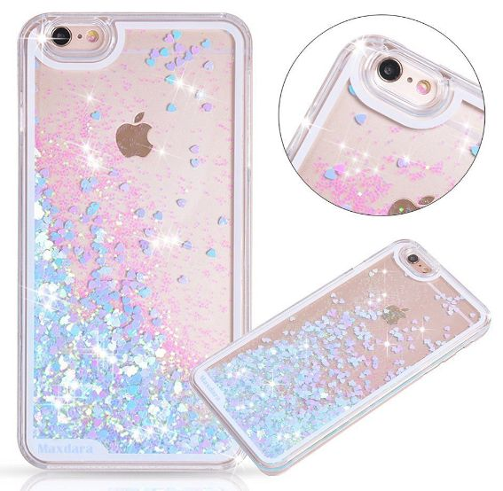 This iridescent, sparkly, glittery cell phone case that will be the envy of every mermaid, everywhere. | 18 Inexpensive Gifts For The Everyday Mermaid
