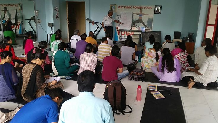 Yoga therapy course ( Rhythmic Power Yoga )