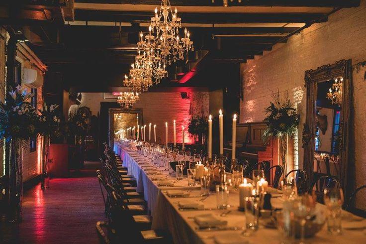 L'Auberge Saint-Gabriel en mode festif. Pensez-y pour votre prochain événement!