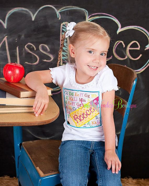 Hey, I found this really awesome Etsy listing at https://www.etsy.com/listing/155322730/back-to-school-embroidered-shirt