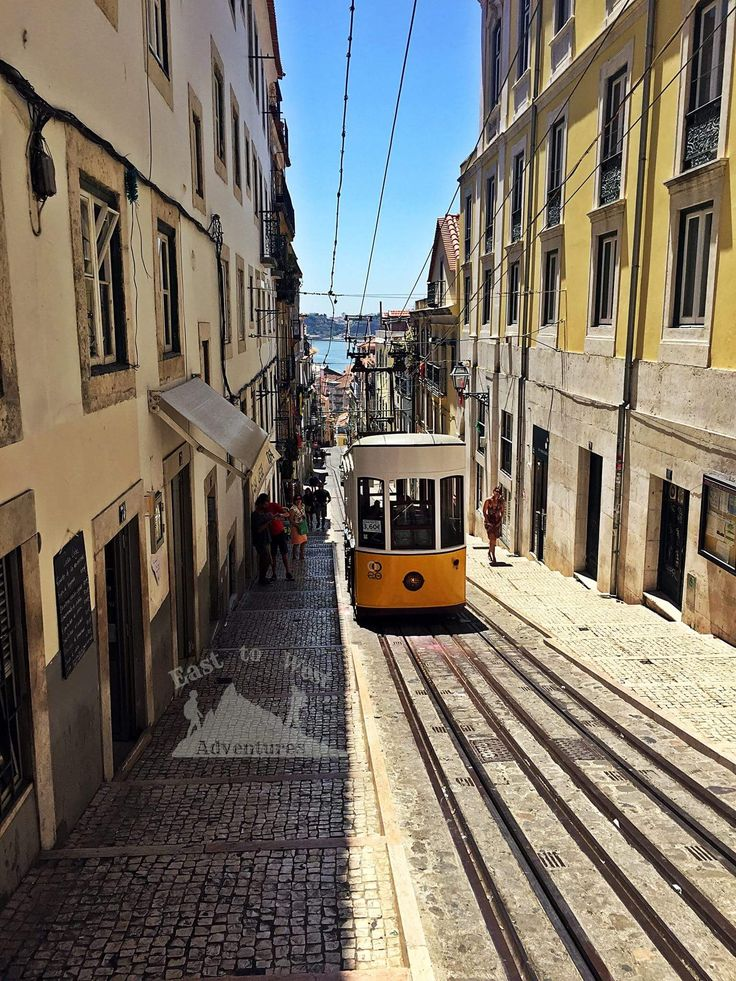 The yellow tram 🚡💛 لازم تجرب الترام الأصفر الشهير في لشبونة To know more about our trip to Lisbon check the blog لمعرفة المزيد عن رحلتنا إلى لشبونة يمكنك قراءة المدونة على الرابط http://www.easttowestadventures.com/en/europes-oldest-city/ #easttowestadventures #travelblogger  #travelphotographer #portugal #lisbon #yellowtram #barrioalto