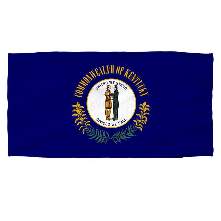 Kentucky Flag Beach Towel