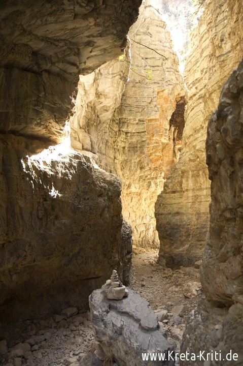 Imbros Schlucht auf Kreta (Crete)