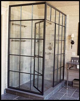 Framed Shower  Project by @GlassDoctorDFW