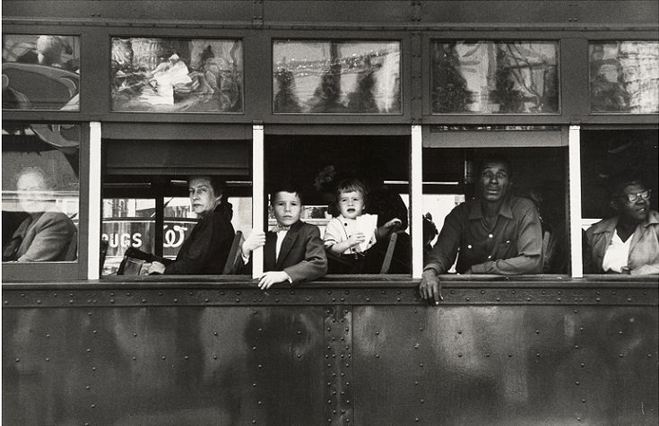Trolley New Orleans (1955) - Robert Frank