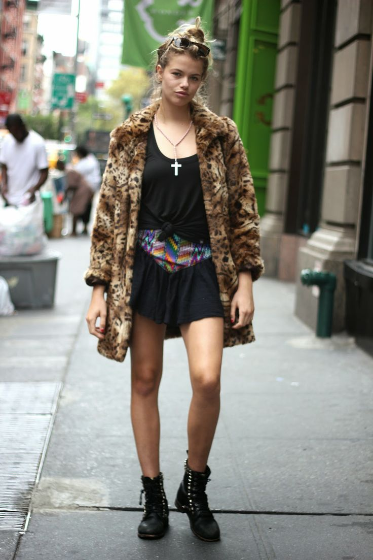 How to Chic: MODEL OFF DUTY STYLE - HAILEY CLAUSON
