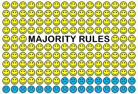 Resultado de imagen de MAJORITY RULE