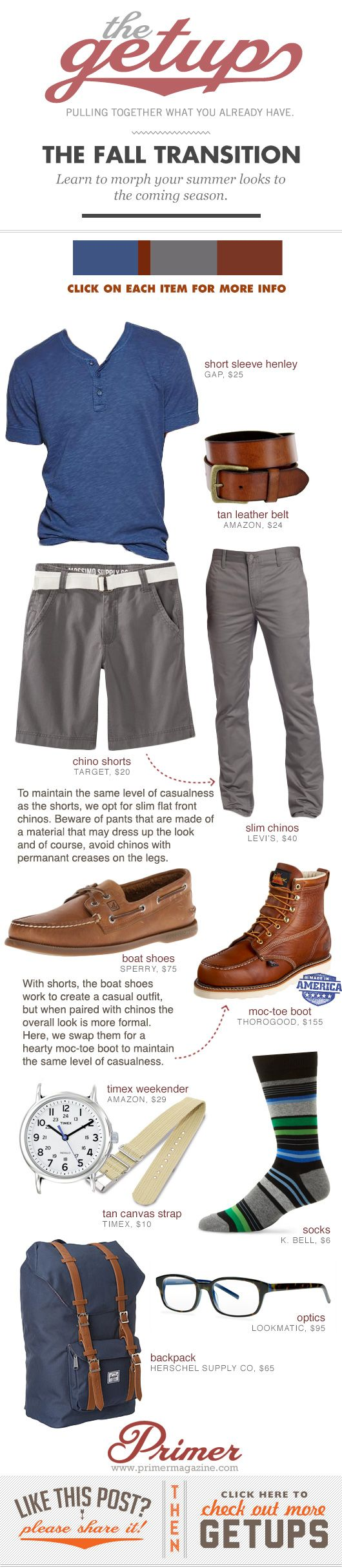 Fall Getup Week: The Fall Transition - Primer