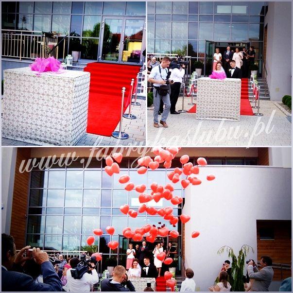 Balony z pudla prezentu- www.fabrykaslubu.pl