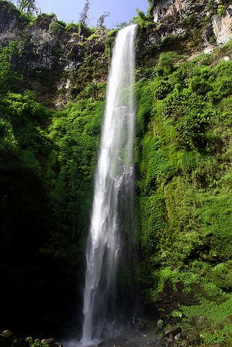 Coban Rondo Waterfall, Malang, East Java, Indonesia.