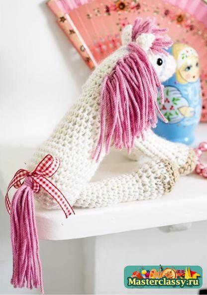 Вязание игрушек. Лошадка амигуруми