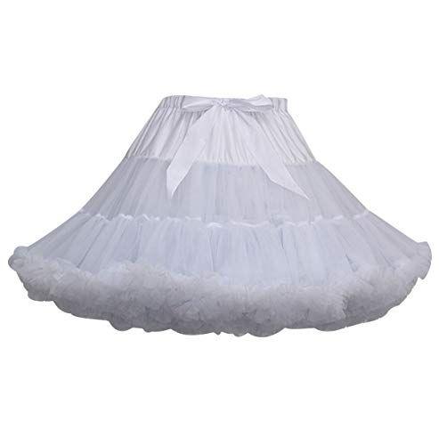 lowest price b14cb 2db32 Tutu Donna Gonna Tulle Corta tutù per Danza Ballerina Gonne ...