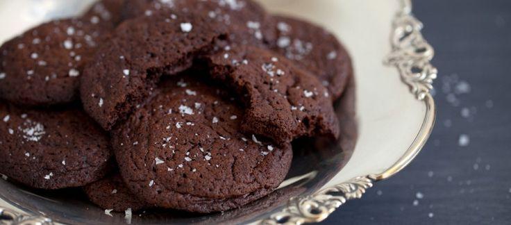 Biscotti alla Nutella, cioccolato e sale