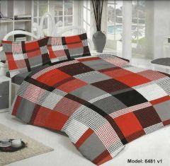 Yatak odalarınız Gülev nevresim takımları ile artık çok daha canlı, çok daha renkli oluyor. Çift Kişilik Nevresim, çarşaf ve iki yastık klıfından oluşan sette kanserojen içermeyen boya maddesi kullanılmış.