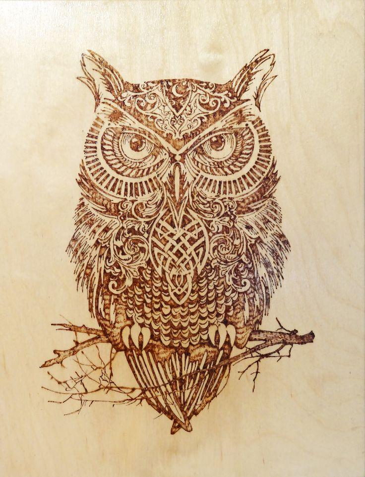 Сова | Картины | Творчество | Uniqhand - интернет магазин авторских работ