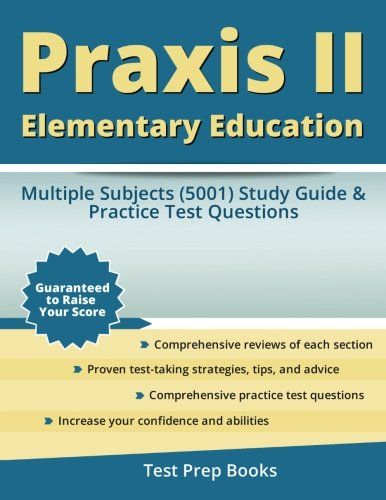 Praxis II Elementary Education: Multiple Subjects (5001) Study Guide & Practice Test Questions for USD4.99 #Elementary  Like the Praxis II Elementary Education: Multiple Subjects (5001) Study Guide & Practice Test Questions? Get it at USD4.99!