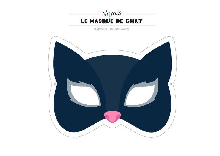 masque de chat