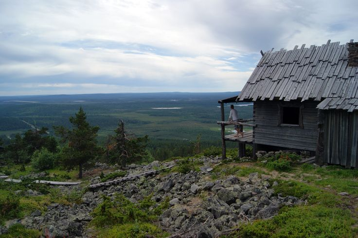 Santa's cabin in Levi, Finnish Lapland. #levilapland #santa #finland #lapland  ©MarikaLindström (summer photoshoot for Levi)