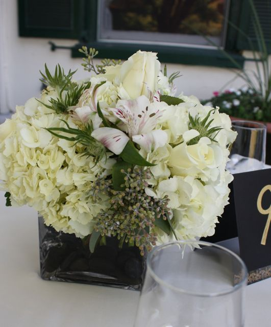 White Wedding Flowers Centerpieces: 1000+ Images About Black/ White Wedding & Events On