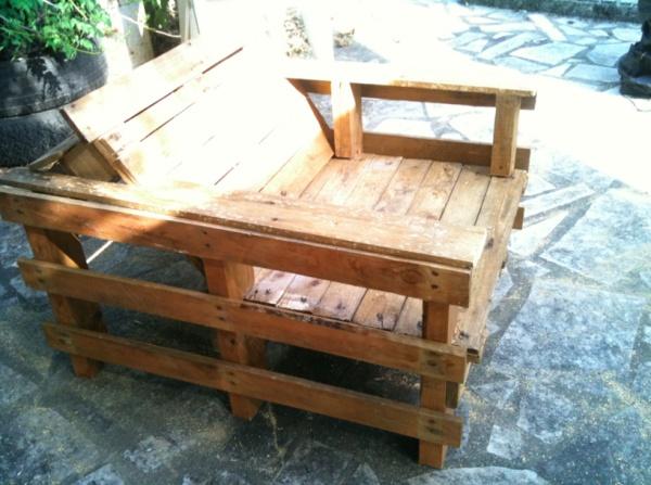 Tuto et guide montage pour fauteuil en palettes anthony for Tuto terrasse bois