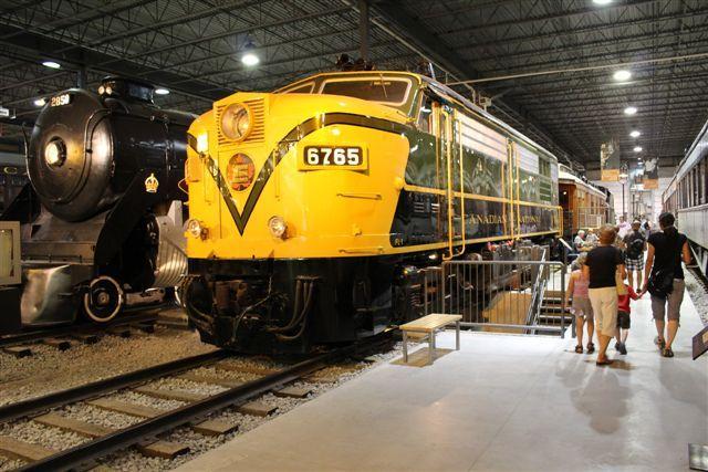 CNR 6765 #exporail #trains #musée #museum