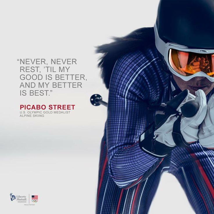 The great Olympic Medalist, Picabo Street!
