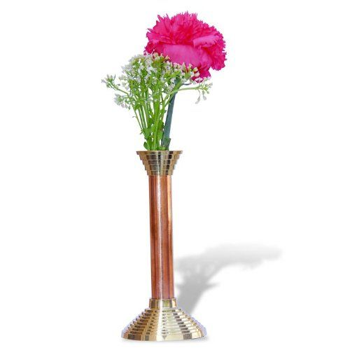 Bud Vase Copper and Brass Height 6 Inches ShalinIndia,http://www.amazon.in/dp/B003RFOO3E/ref=cm_sw_r_pi_dp_BlFFtb0JSMBA5D7G