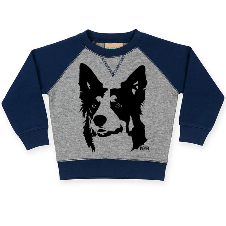 17 best border collie owner gift ideas images on pinterest border collie baby sweatshirt custom toddler sweatshirt toddler jumper personalized baby jumper negle Image collections