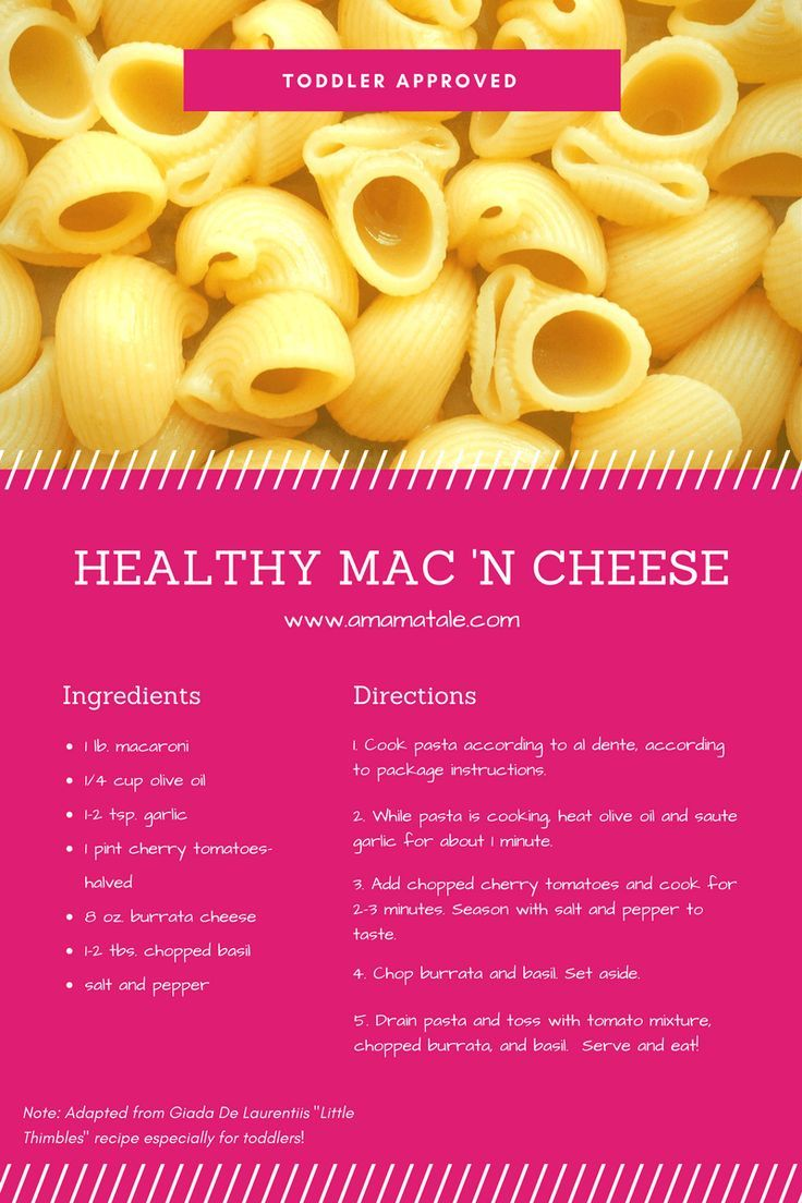 how to make macaroni and cheese for toddlers