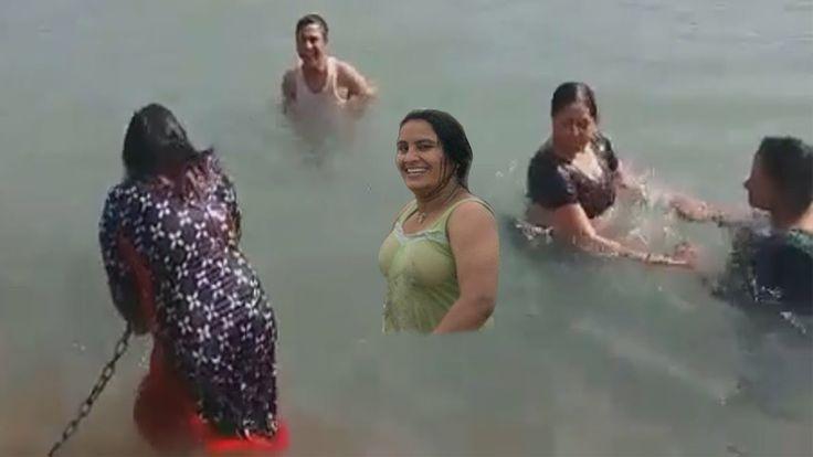 People Open Holy Bath At Ganga River In India  Ganga Snan -4130