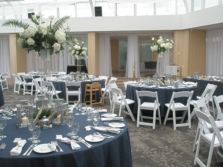 31 best wedding shades of blue images on pinterest wedding blue wedding table setting junglespirit Image collections