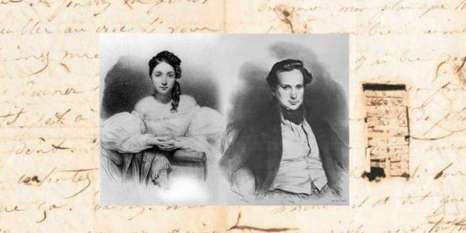 22 000 lettres d'amour de Juliette Drouet à Victor Hugo consultables en ligne (Juliette Drouet et Victor Hugo jeunes).