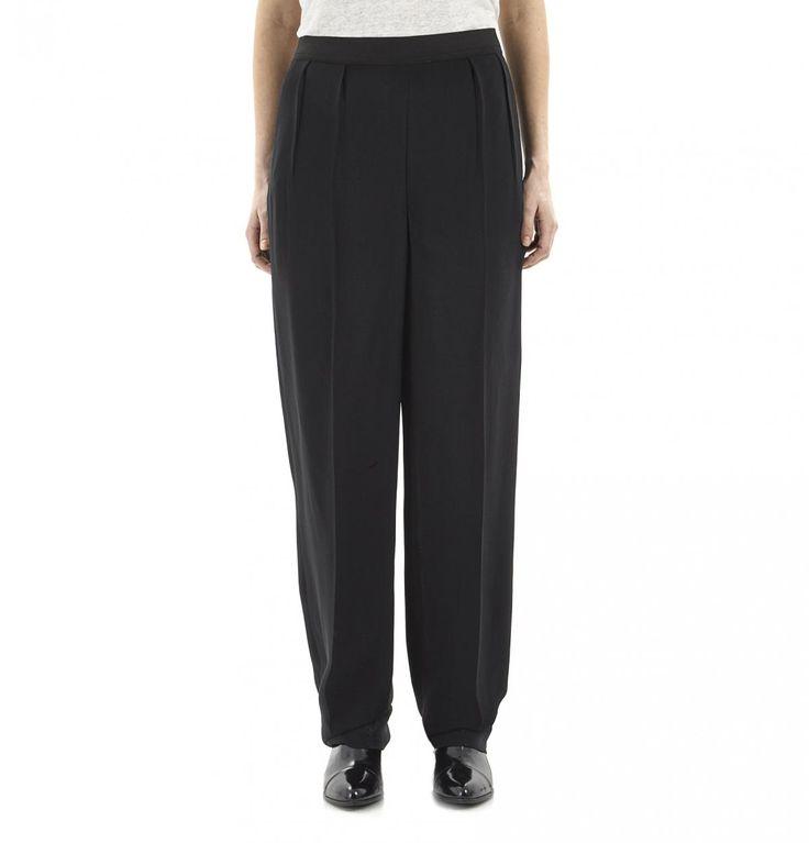 Black Large Pants