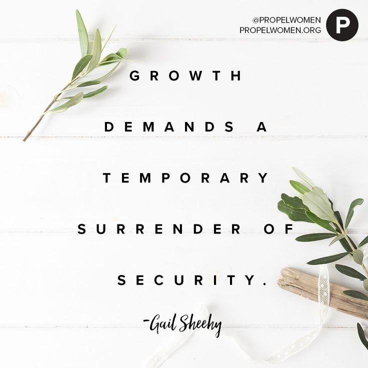 Growth #surrender