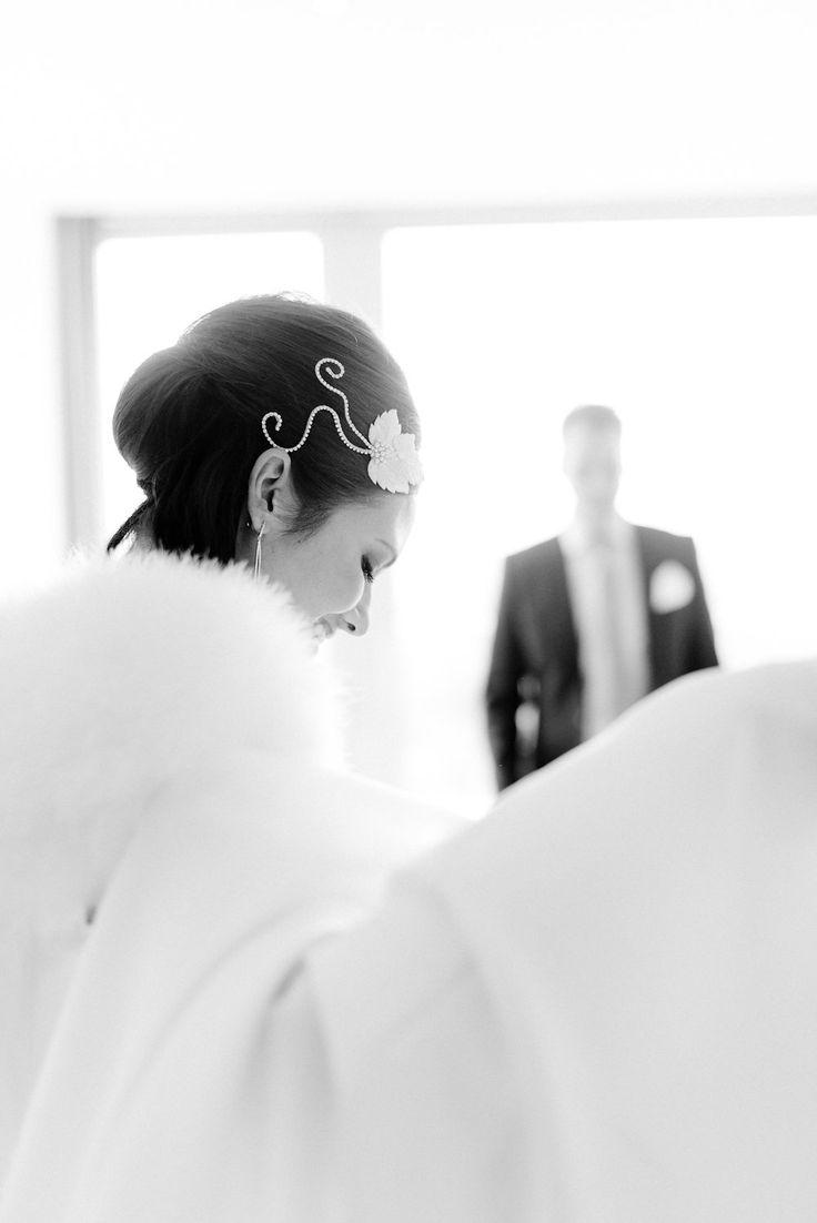 Mein wunderbares Headpiece von Niely Hoetsch. #hochzeit #heirat #heiraten #headpiece #styling