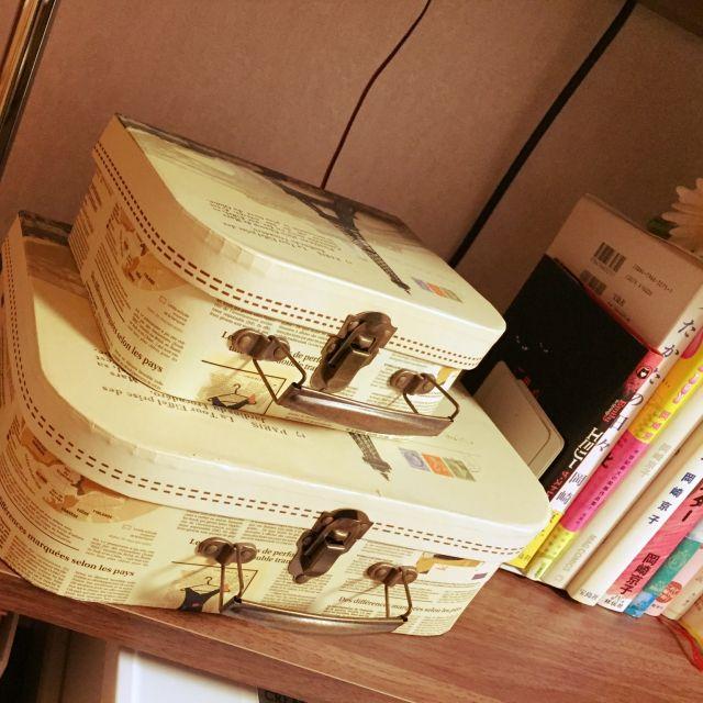 雑貨/収納/収納ボックス/BOOK/3コインズ/棚…などのインテリア実例 - 2015-03-02 20:59:50 | RoomClip(ルームクリップ)
