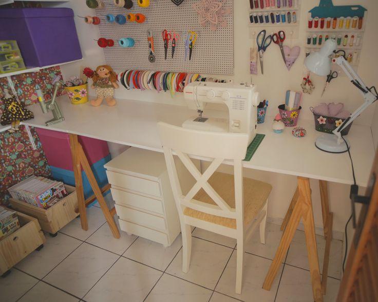 Casa Linda faz transformação em ateliê de artesanato - Revista Casa Linda