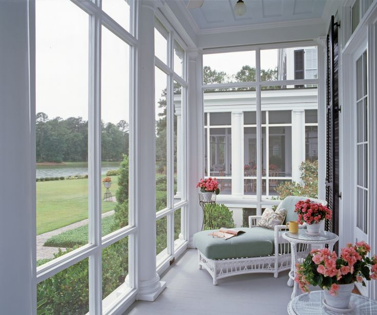 A master bedroom porch.  www.historicalconcepts.com