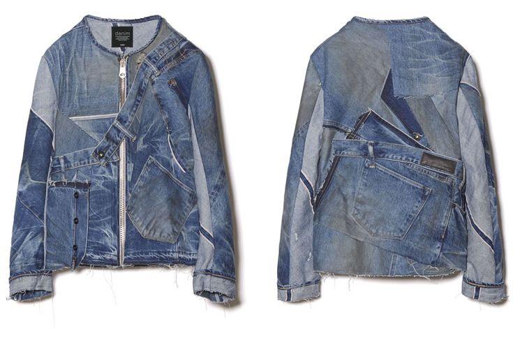 KURO* S/S 2016 Jeans Remake Jacket