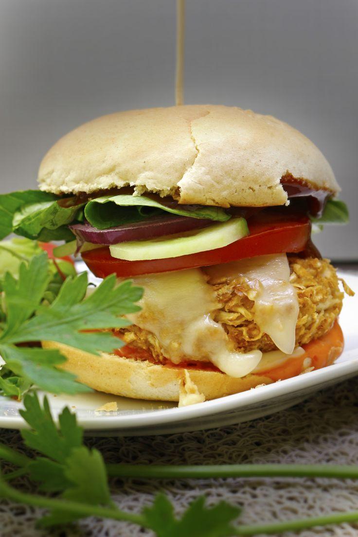 Wegetariańskie burgery z selera