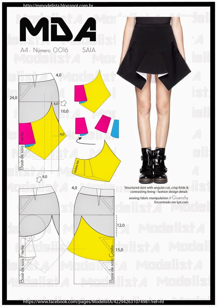 Pattern for skirts