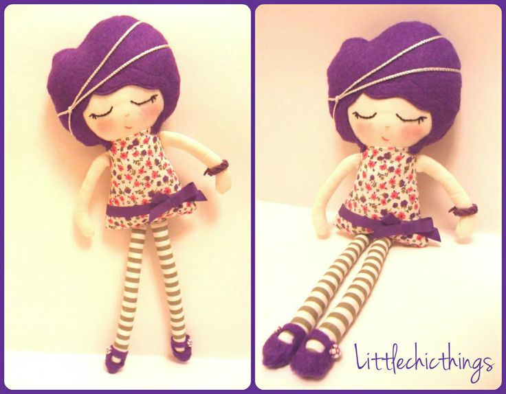 Soft doll by Littlechicthings
