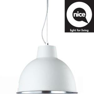 hanglamp urban metaal zand wit, doorsnede 41,5 cm, hoogte 30 cm