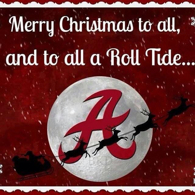 It's An Alabama Crimson Tide Christmas