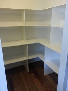 Pantry Shelving Some Are Wide To Hold Appliances Like