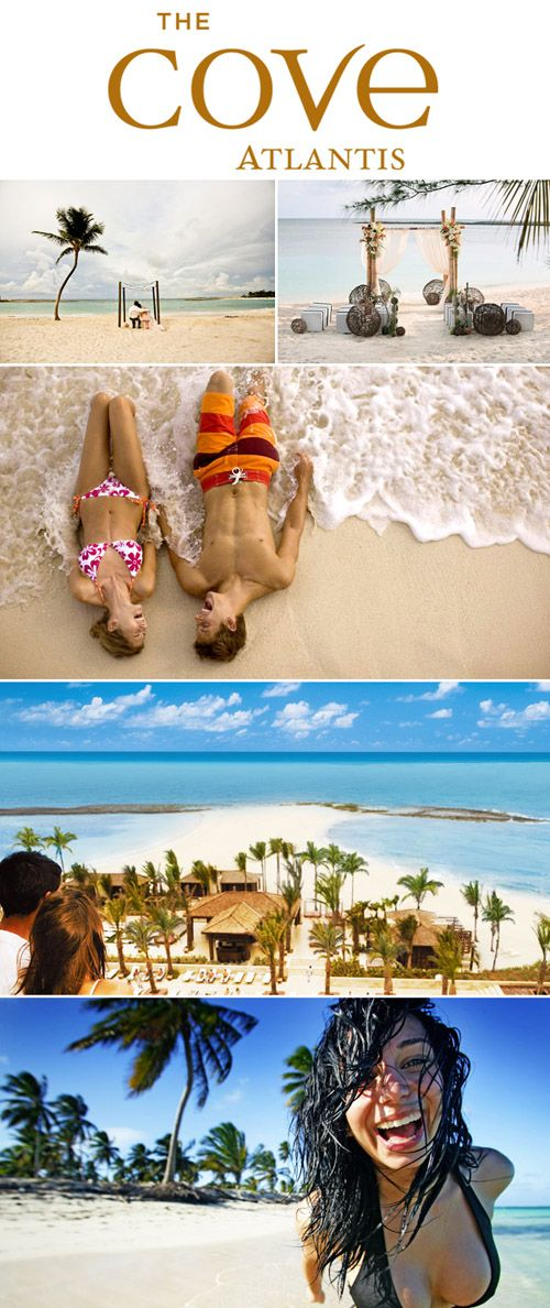 Enter to win a luxury honeymoon at The Cove Atlantis and One Ocean Club in The Bahamas from junebugweddings.com!