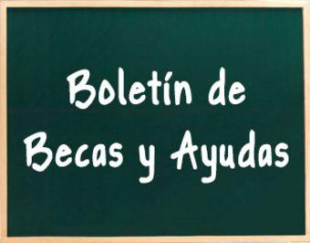 Boletín de Becas y Ayudas: Quincena del 30 de diciembre de 2014 al 12 de enero de 2015.