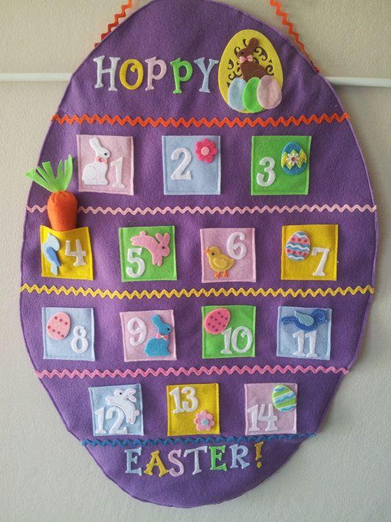 Easter Countdown Calendar by HandcraftingHarmony